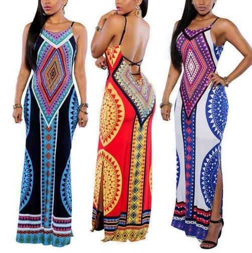 Libre En Para Vestido 000 Africano Largo Dama95 Mercado kOPXwZiuT