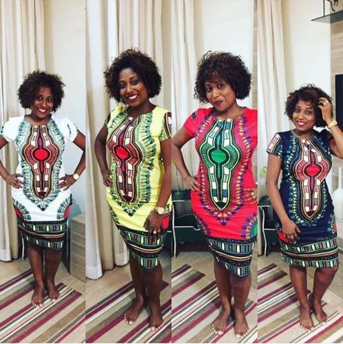 vestido afro estampa africana qualidade tamanhos m g gg