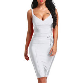 2ddaf140cb Vestido Ajustado Lycra - Vestidos De Fiesta para Mujer en Mercado ...