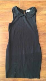 a6620dde5 Vestido Algodo Mujer Negro Marca Index Talla S
