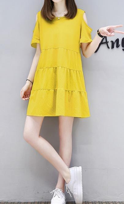 ae81c4df8 Vestido Amarillo Kawaii, Moda Japonesa, Ropa Japonesa, Kpop