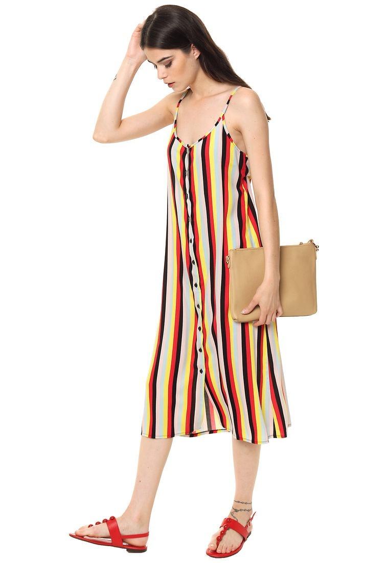 e575fd55c8d vestido amarillo rayado importado   pregunte por mayor. Cargando zoom.