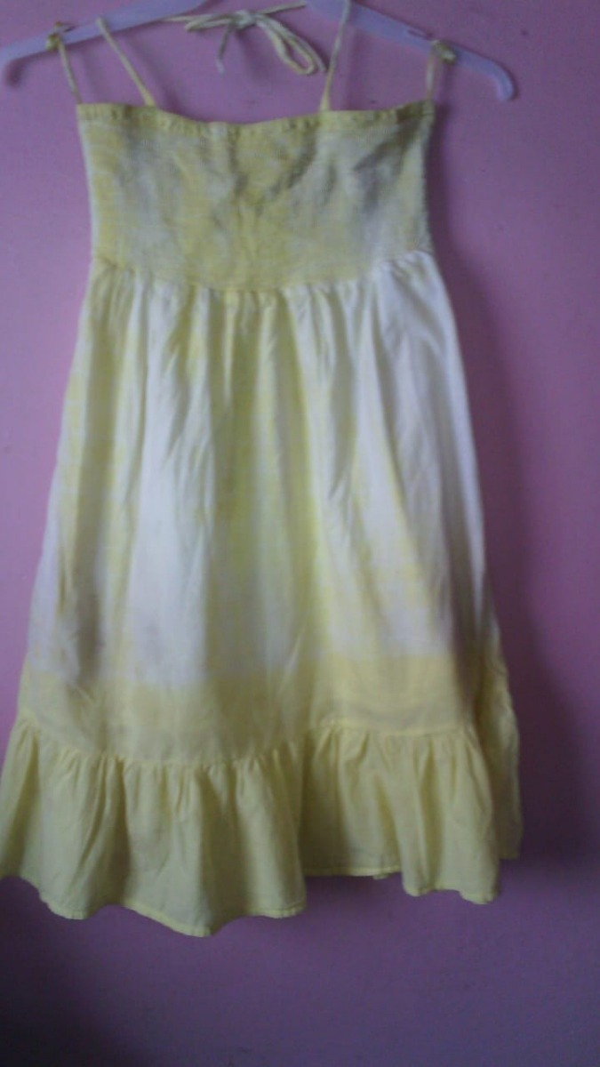 839ccd2b9 Vestido Amarillo Talla Chica Fresco Y Juvenil That s It -   50.00 en ...