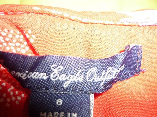 vestido american eagle talla 8