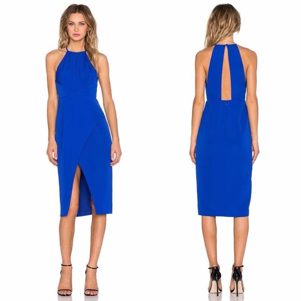 a78fa751 vestido americano marcarxclusiva cocktail boda día m l azul. Cargando zoom.