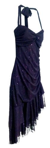 vestido americano morado talla  m