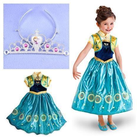 909da896f Vestido Ana Fantasia Ana Frozen 2 - Promoção!!! - R  79