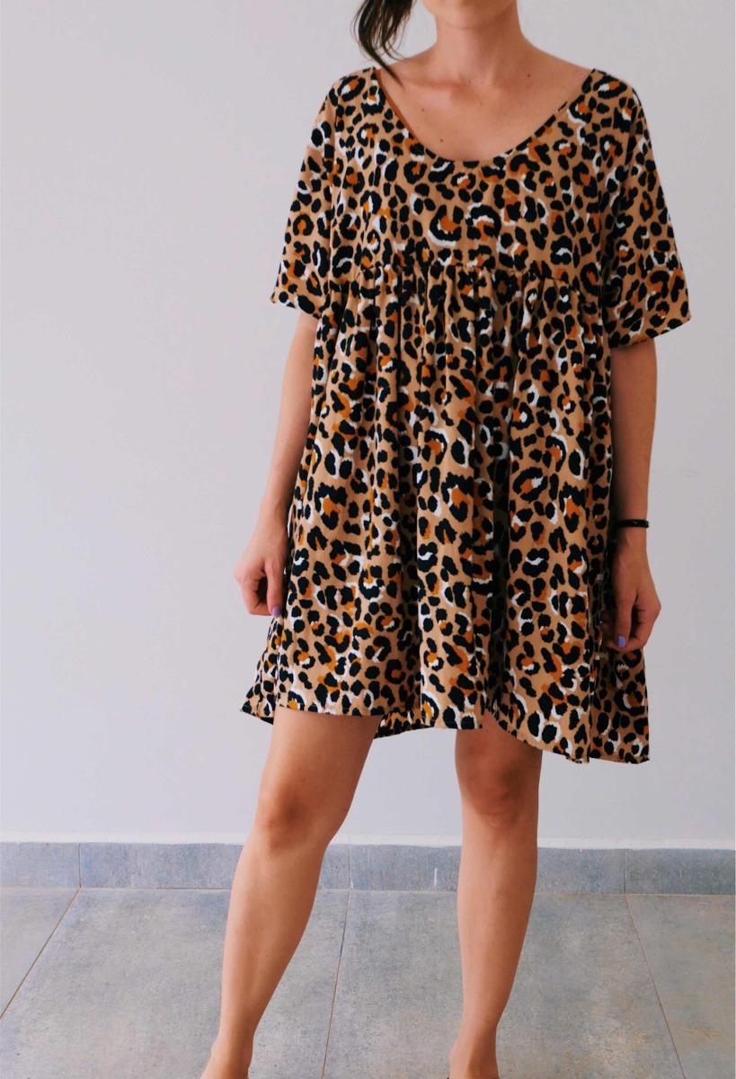 2cb644f067 vestido animal print - onça  leopardo verão 2019. Carregando zoom.