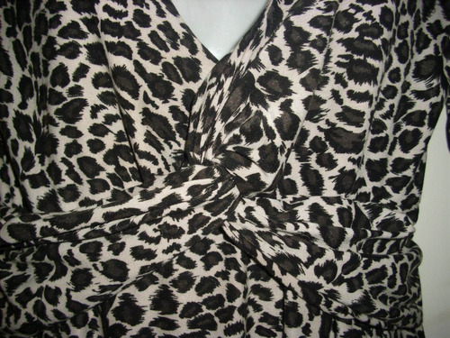 vestido animal print talla s oferta 14 mil