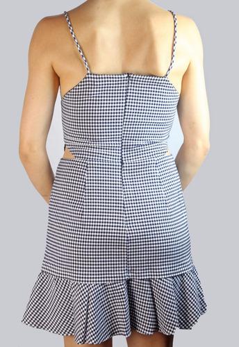 vestido animale xadrez