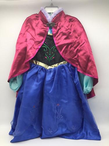 vestido anna frozen princesas disney store modelo 2017
