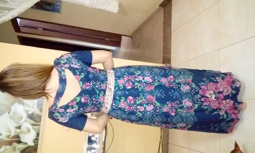 vestido antix camelia