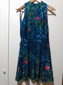 7fb34c68f Vestido Antix Flores De Agua - Calçados, Roupas e Bolsas com o ...