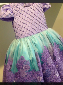 Vestido Ariel De La Sirenita