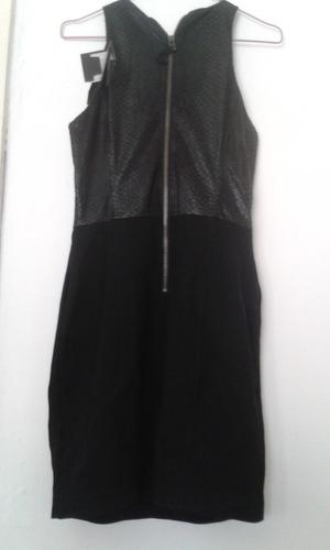 vestido armani negro mujer