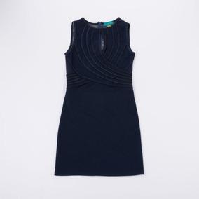 d9c4c214b49a Vestido Art Decó Espalda Tul Azul