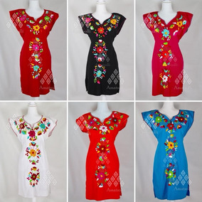 527d55cd5d Vestidos Finos De Manta Bordados - Vestidos en Mercado Libre México