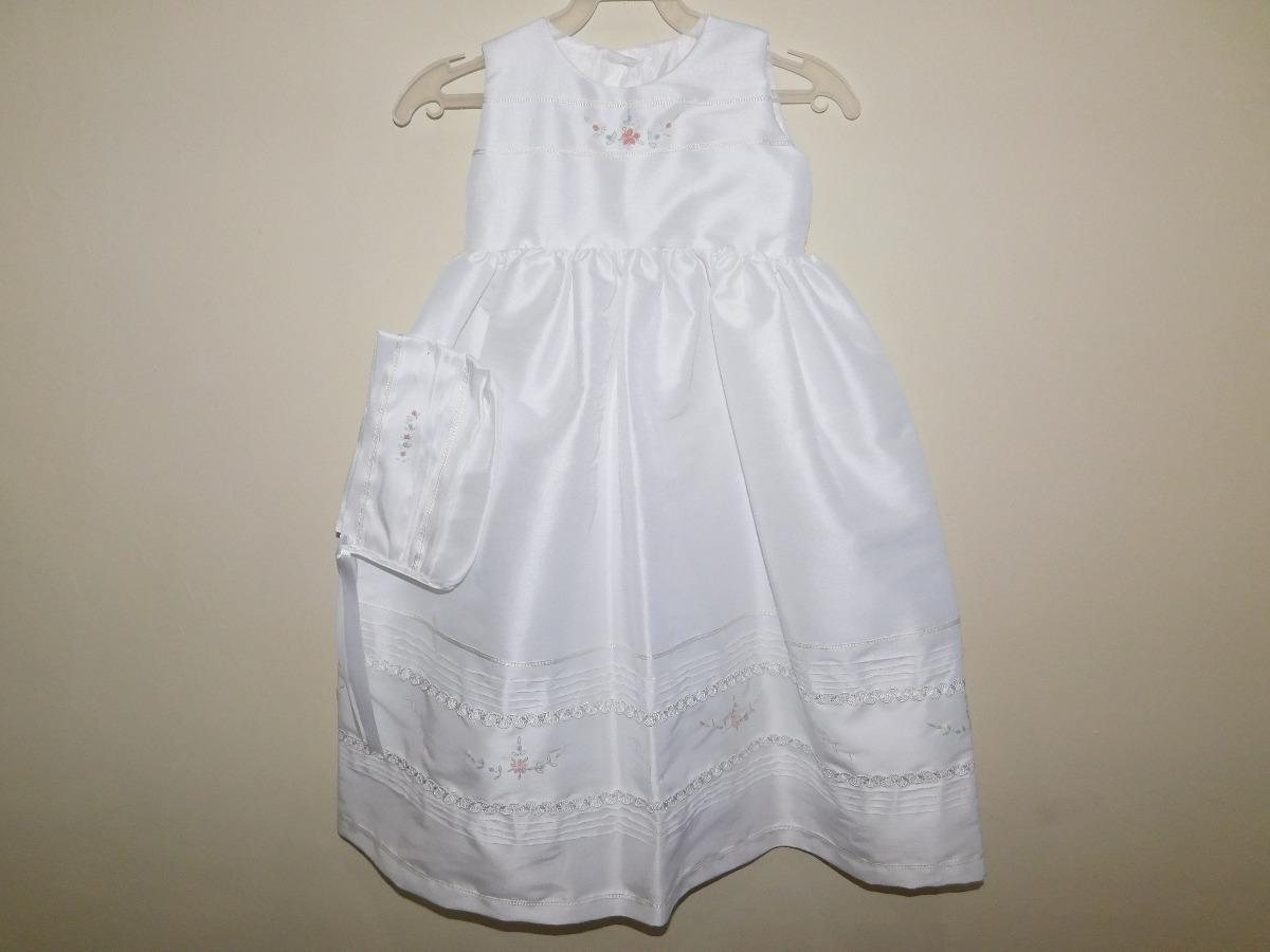 5e097d040 vestido artesanal ropón de presentación bordado rosa-azul. Cargando zoom.