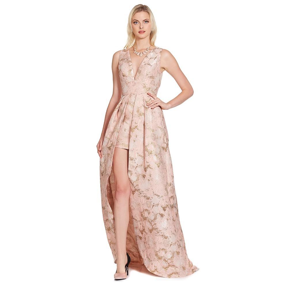 Vestido Asimétrico Floral Eva Brazzi