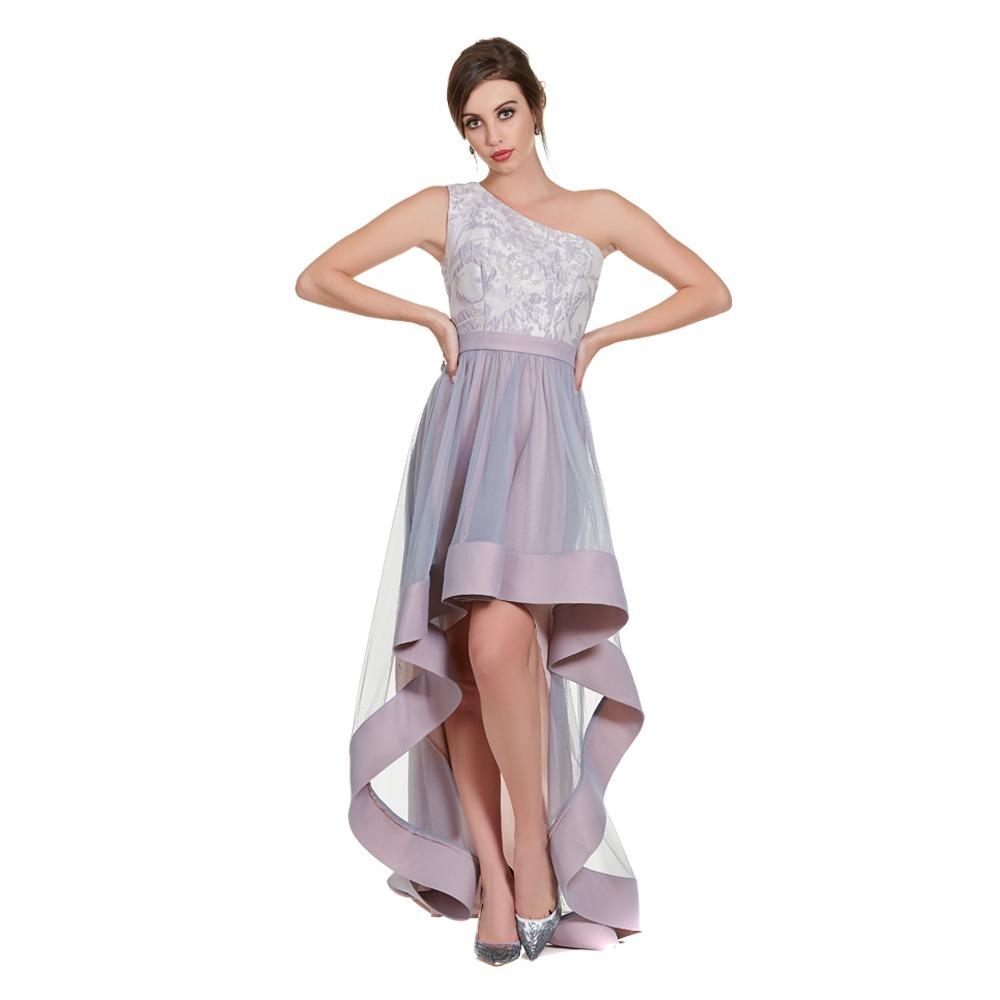 811aa0d54 Vestido Asimetrico Un Hombro Eva Brazzi -   2