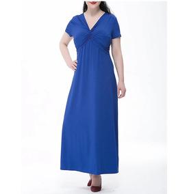 00df36573 Vestido Azul 3 A 5xl Talle Grande Especial Fiesta