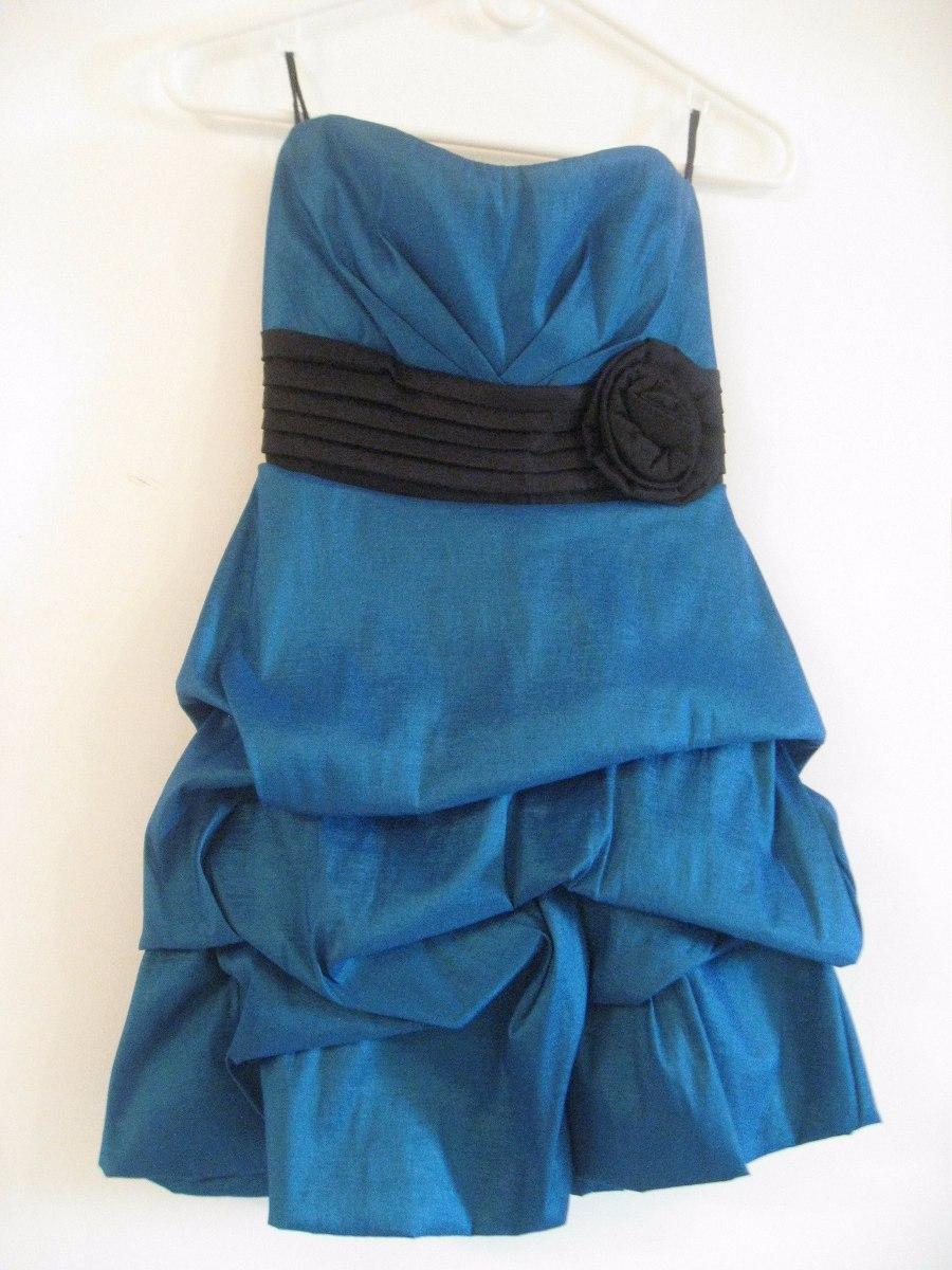 6d67bfd8e vestido azul electrico de fiesta corto para adolescentes. Cargando zoom.