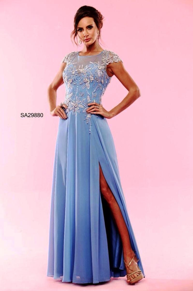 Increíble Prom Vestido Azul Bosquejo - Colección del Vestido de la ...