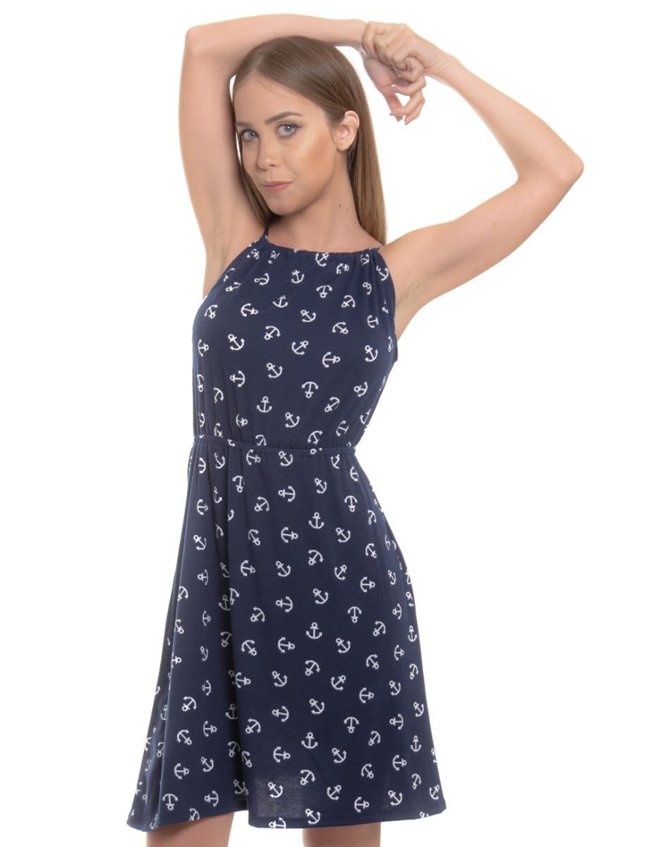 Vestido Azul Marino De Anclas Casual Envio Gratis - $ 17.000 en ...