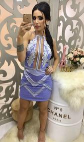0403bc2ec Vestido Realeza Bordado De Renda - Vestidos Femeninos Curto com o Melhores  Preços no Mercado Livre Brasil