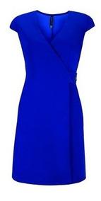 Vestido Azul Rey Vestidos Casuales Vestidos De Mujer Corto