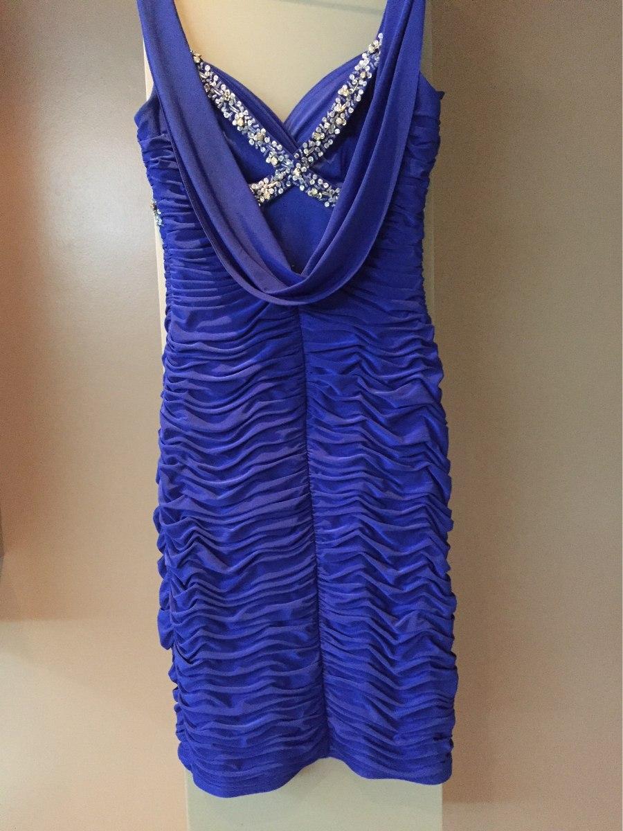 Vestido Azul Rey De Cóctel Talla 2 - Bs. 6.800.000,00 en Mercado Libre