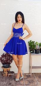 031fb415b Vestidos De Fiesta Azul Rey Cortos Casuales Mujer Nuevo Leon ...