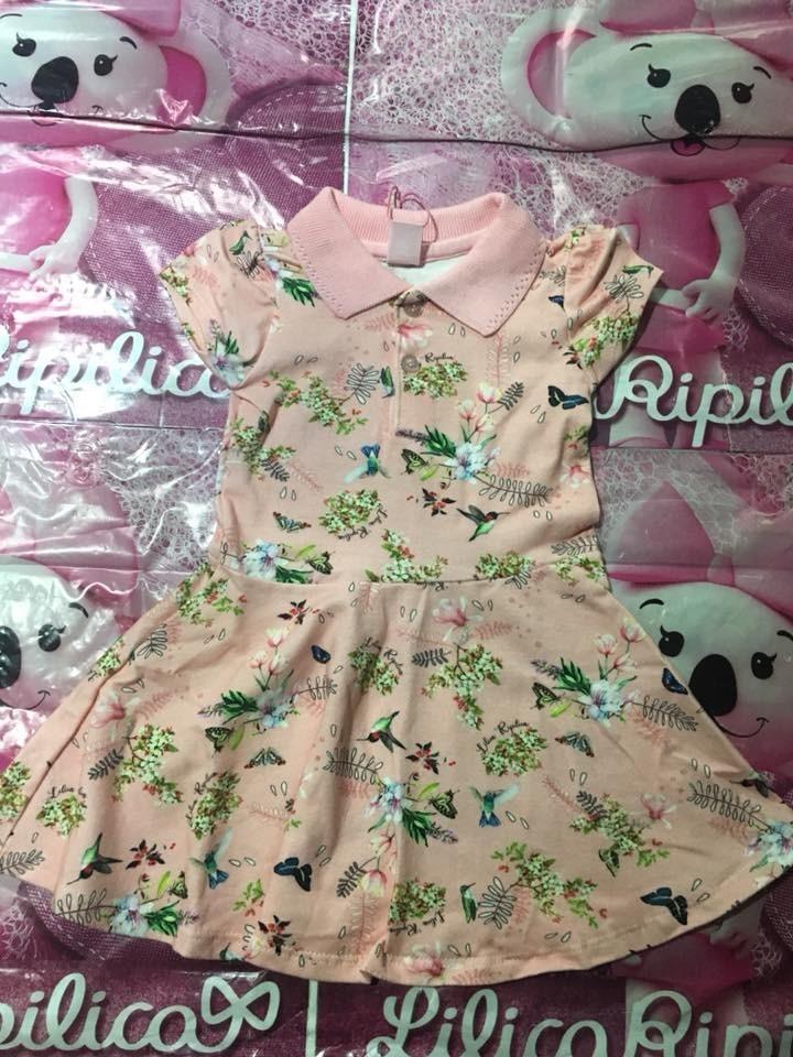 e45bba567 Vestido Baby Lilica Ripilica Original - R$ 139,90 em Mercado Livre