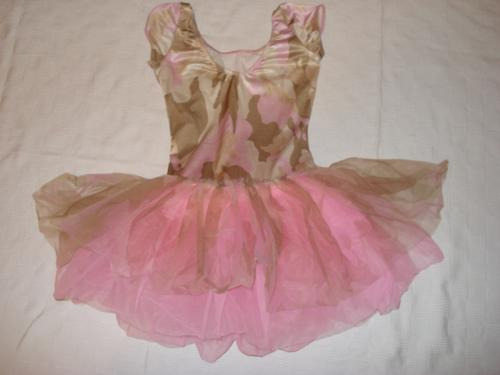 e7b60fbc0d Vestido Bailarina Na Cor Rosa E Bege Adulto M Fantasia Usa - R  190 ...