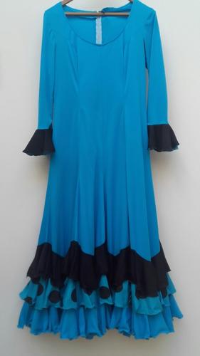 vestido baile  danza flamenca