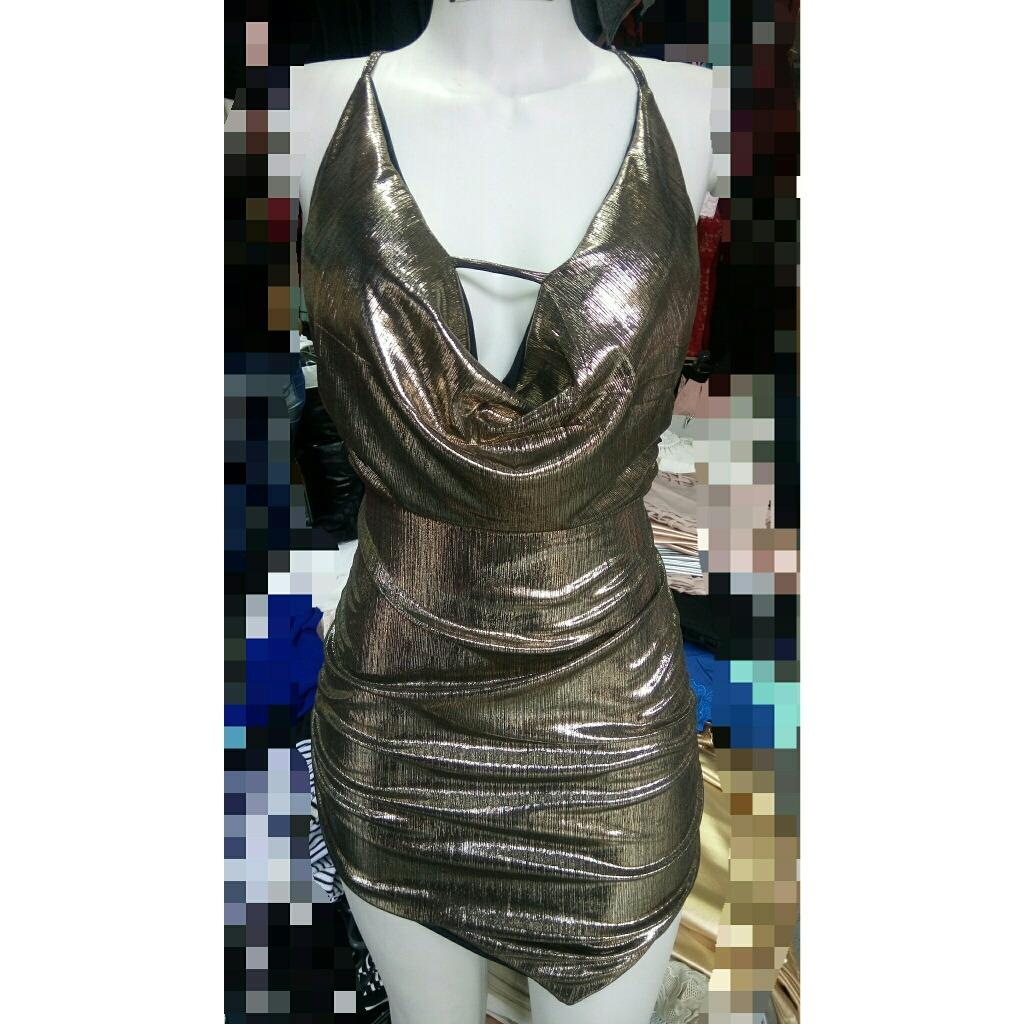 74ec70185e vestido balada gola boba tecido metalizado festa piriguete. Carregando zoom.