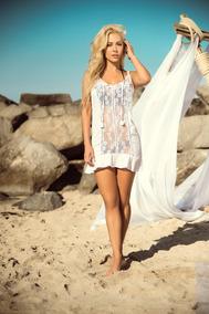 4ace72021c7f Vestido Beach Dress Pareo Cover-up Playero Resort B219 7883