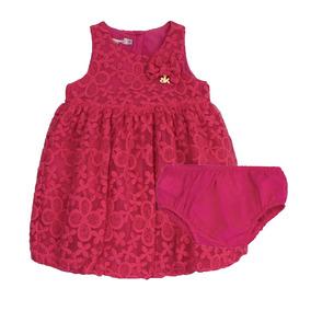 7bf3e83de Vestido Infantil Com Calcinha E - Calçados