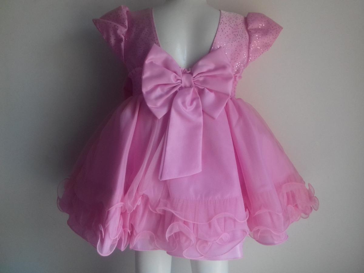 d5f8cef8b vestido bebê rosa pérolas princesa menina bonita, casamento. Carregando  zoom.