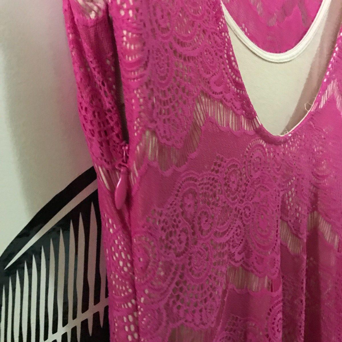 Fantástico Vestido De Partido Del Bebé De Color Rosa Regalo ...