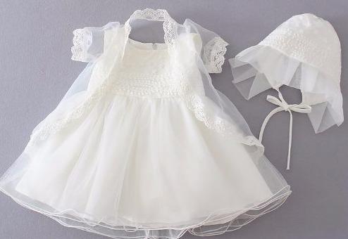 27b27c18a Vestido Bebe Niña Bautizo Blanco Aperlado 6m Con Accesorios ...