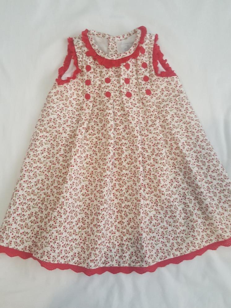 808305566 Vestido Bebe Niña Epk 23 Meses Pique - Bs. 100,00 en Mercado Libre
