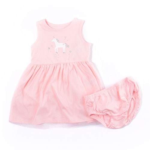 Vestido Bebe Nina Unicornio Carters Regalo Grat Nuevo 100 Bs