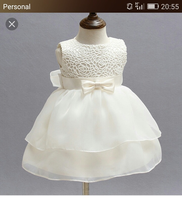 0207c42b4 Vestido De Bebe Para Bautismo -   1.200