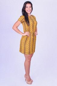 09807843ae Vestido Amarelo - Vestidos Femininas em Amazonas no Mercado Livre Brasil