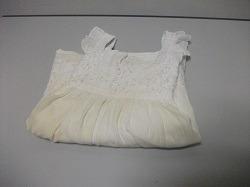 vestido blanco 03 años manchado usado tienda virtual