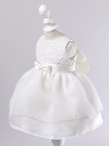 Vestido Blanco Boda Bautizo Fiesta Cumpleaños Envio Gratis ...