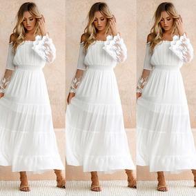 6b03ae2b0 Vestido Nicopoly S M L Vestidos Largos Mujer - Vestidos de Mujer ...