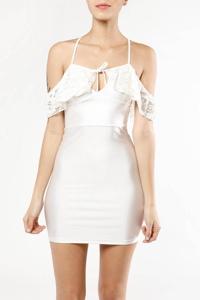 Vestidos blancos elegantes 2018