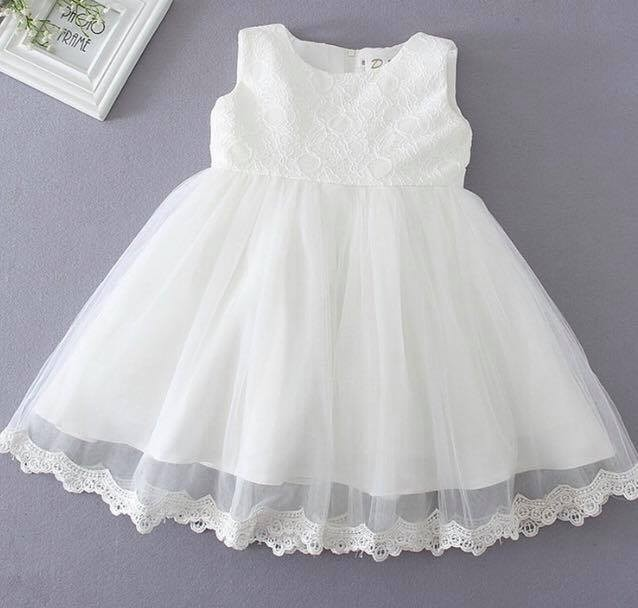 e39955def Vestido Blanco Crudo Bebe Beba Bautismo Cortejo Fiesta -   1.699